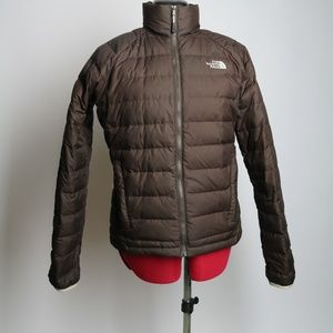 The North Face 550 Brown Zip Up Jacket Size S